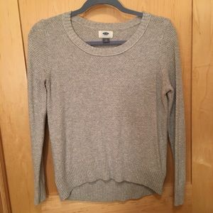 Old Navy Heather Gray Sweater